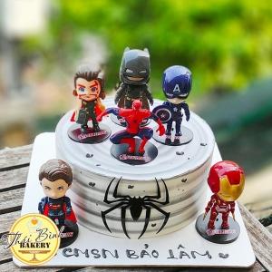 Bánh kem người nhện_siêu anh hùng đẹp tặng con yêu