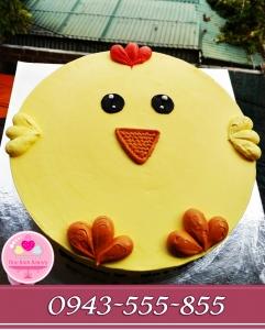 Bánh siêu kute bánh kem tuổi con gà